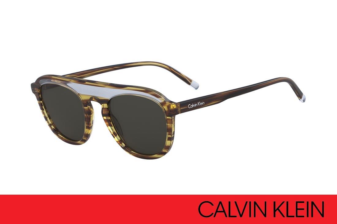 Zonnebril Met Kleine Ronde Glazen.Opvallen Met De Open Space Zonnebrillen Van Calvin Klein